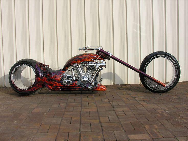 Hubless chopper