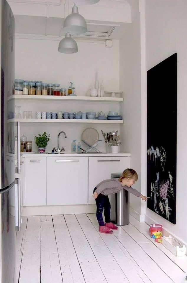 ideas-decorar-cocinas-pequenas-2   kleine Wohnung ...
