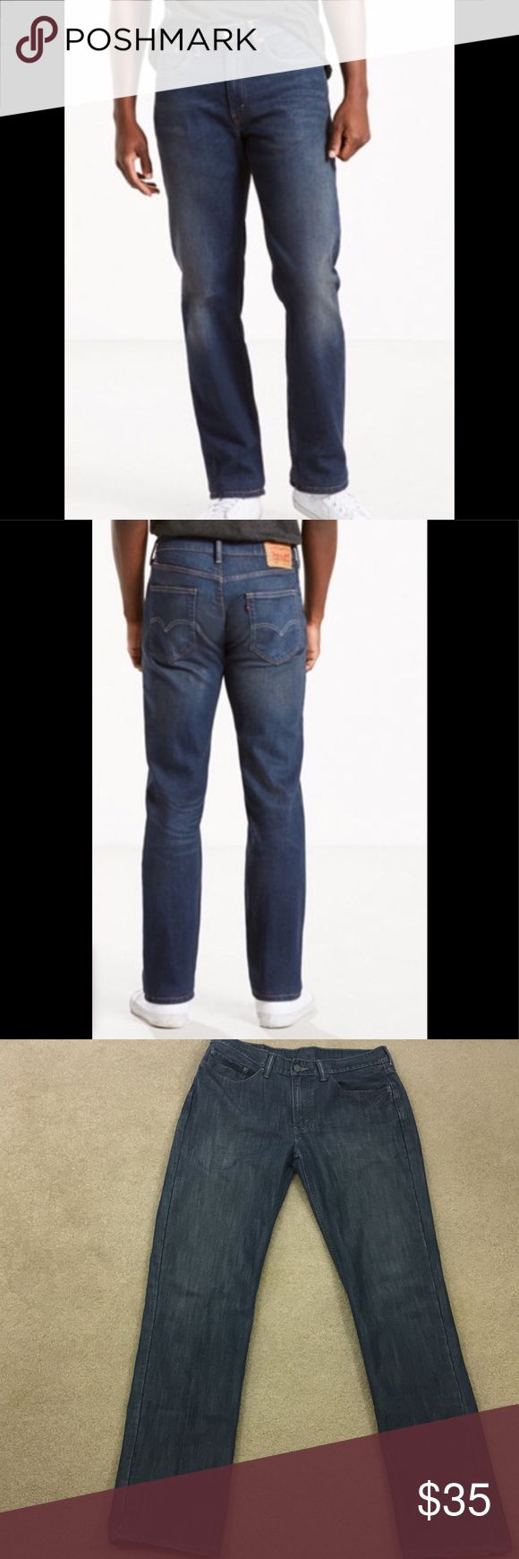 Men's Levi 514 jeans 514's in excellent condition. Soft cotton, light distressed look Levi's Jeans Straight