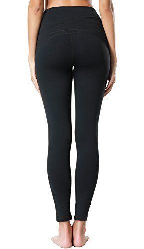 f6fa33bfbadf0 Dragon Fit Compression Yoga Pants Power Stretch Workout Leggings with High  Waist Tummy Control #yoga #leggings