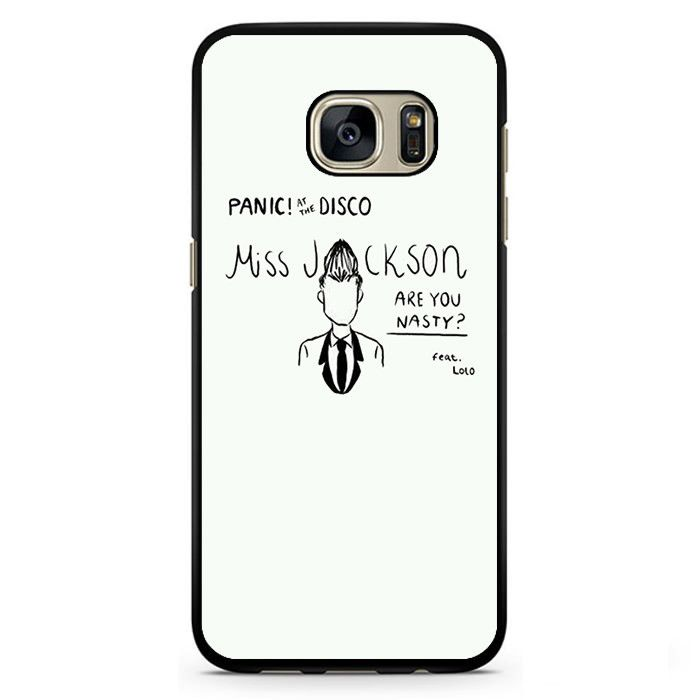 Panic At The Disco Miss Jackson Phonecase Cover Case For Samsung Galaxy S3 Samsung Galaxy S4 Samsung Galaxy S5 Samsung Galaxy S6 Samsung Galaxy S7
