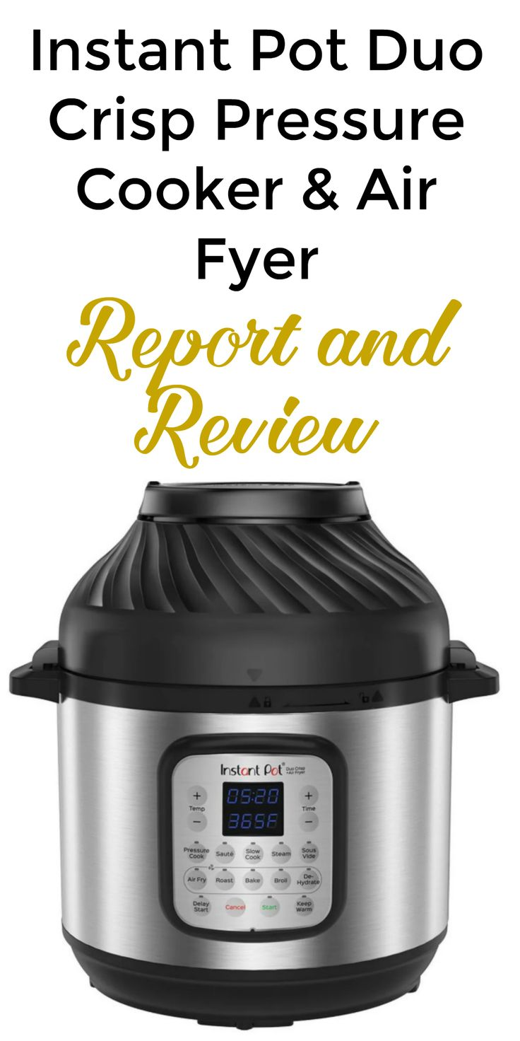 Instant Pot Duo Crisp Review Air Fryer Recipes Breakfast