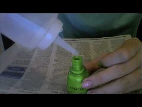 How to fix dried up nail polish. I just saved 3 bottles of nail polish that I thought were going in the trash.