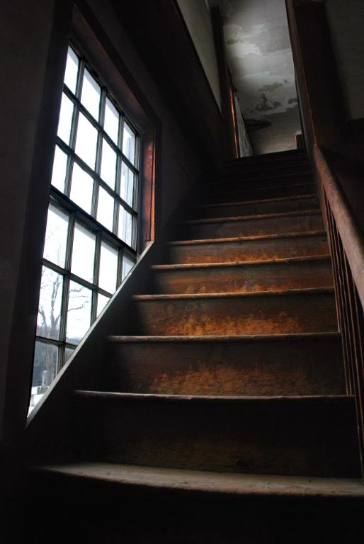 Oh the stories these stairs could tell  if only they could speak.