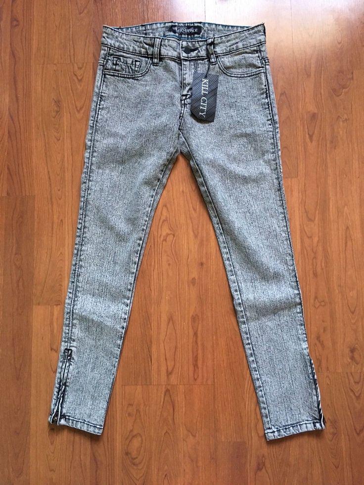 """LIP SERVICE Rock'n'Roll Jeans (?) """"Salt N Pepper"""" pants #64-308"""