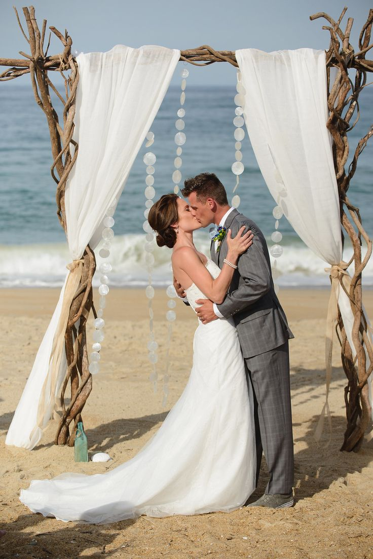 Sandy Beaches And Crystal Blue Waters Are The Perfect Place To Say I Do