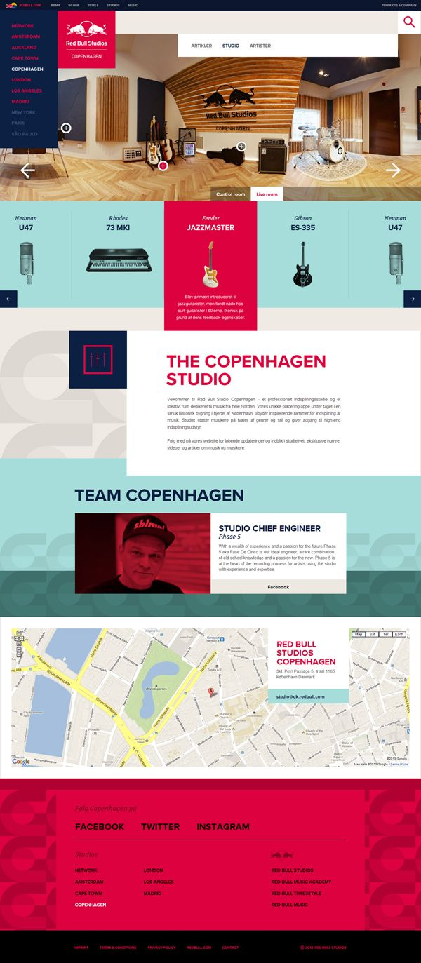 29 Best Interactive Design Images On Pinterest Graphics Website Deepak Julien The Web Practices For Ethernet Cable Wiring Amazing Red Bull Studios By Amsterdam Based Momkai
