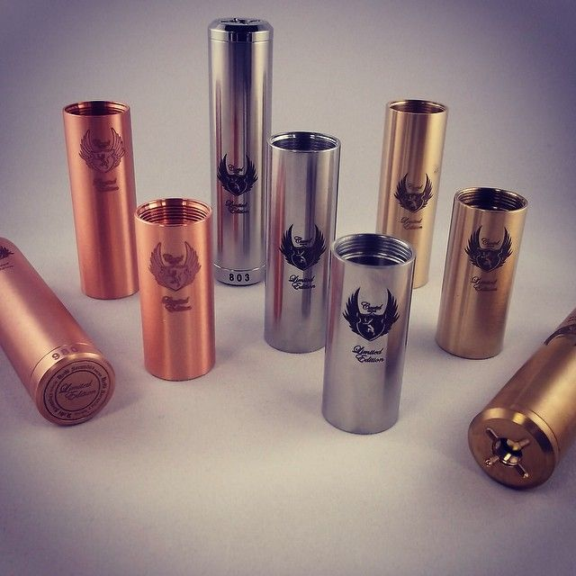 Cartel mod 18350 18490 18650 copper brass stainless steel at vape in boise meridian nampa #18350 #18490 #18650 #copper #brass #stainlesssteel #cartel #vape #boise #meridian #nampa @vapeboise
