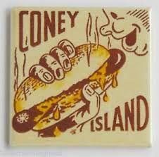Coney Island Hot Dog...