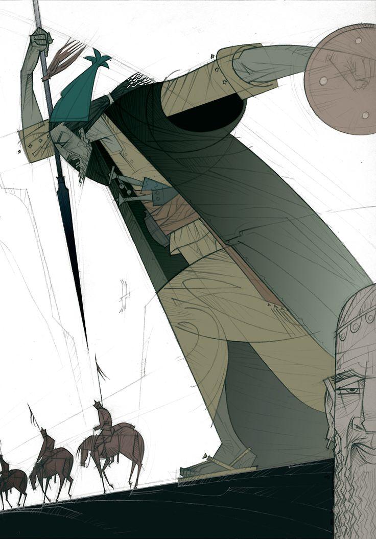 01 Rudyard Kipling, El regimiento perdido, ilustración de Paco Giménez