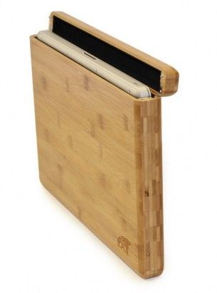 The Natural Bamboo MacBook Pro Case protects your computer while setting you apart with a beautiful Bamboo case. Immediate shipment.