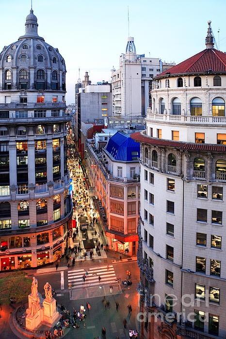 Peatonal Florida, Buenos Aires. Argentina