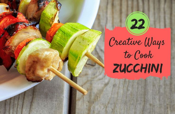 You've never seen (or tasted) zucchini quite like this! Discover 22 creative ways to prepare this versatile veggie.