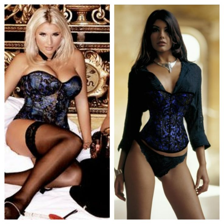 Billie Faiers from The Only Way Is Essex in Vollers Hand Painted Lace Satin Corset 'Leoty' 1904. Get the look with Vollers 'Kensington' corset in Hand Painted Lace Satin. Available at: http://www.vollers-corsets.com/kensington.html