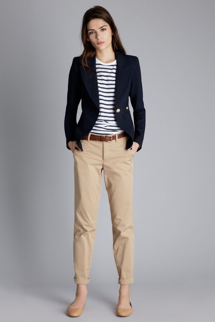 Best 25 Khaki Pants Outfit Ideas On Pinterest