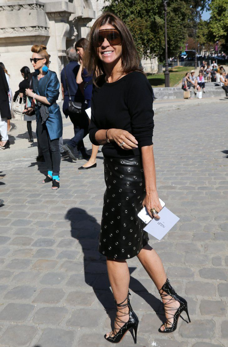 Meet the 21 Best Dressed Women at Fashion Month Carine Roitfeld