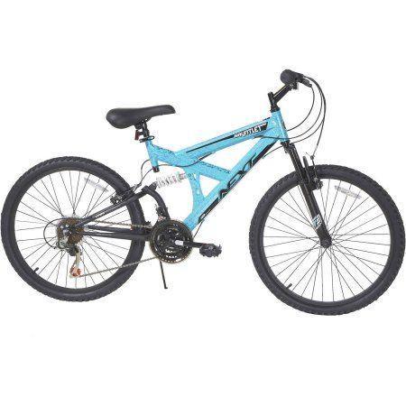 24 inch Next Girls' Gauntlet Bike, Blue
