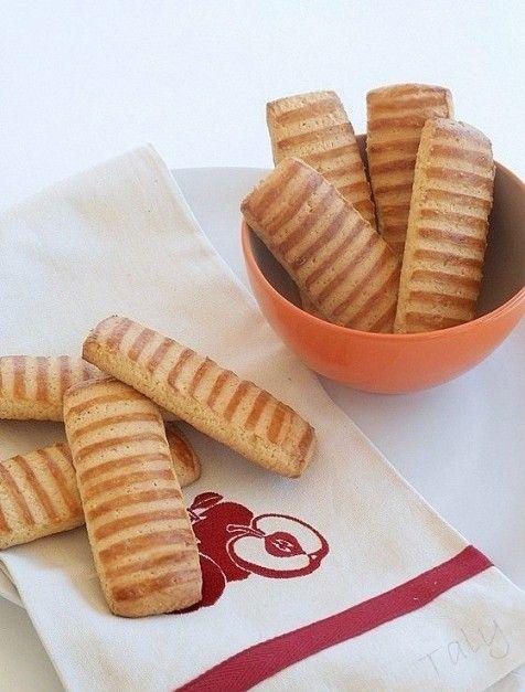 BISCOTTI RIGATI #Biscotti per la prima #colazione