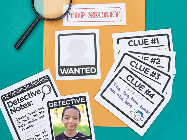 Get students talking as they solve clues in this getting-to-know-you detective game.