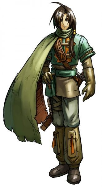 Anime Clothes Design Games Felix from Golden Sun game