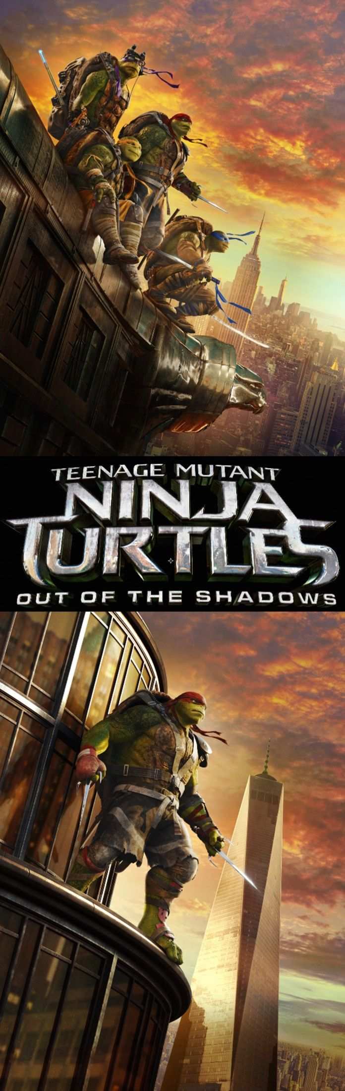 WANTED: Bebop. The turtles are back with Teenage Mutant Ninja Turtles: Out of the Shadows! In theaters June 3, 2016. Get your tickets now!