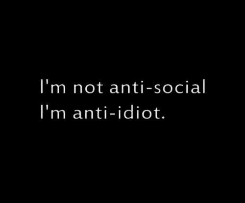 add adults are anti-social