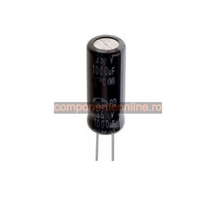 Condensator electrolitic, 3300µF, 10V, pentru PC - 135260