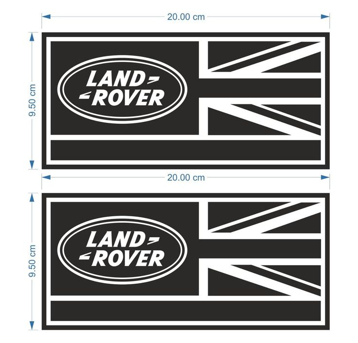 2x Land Rover Defender 90 110 130 Aftermarket Decal