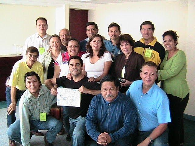 Equipo de asesores tecnico pedagogicos de Artes-Teatro del país en la 6a. Reunion de la Reforma Educación Secundaria. octubre 2009