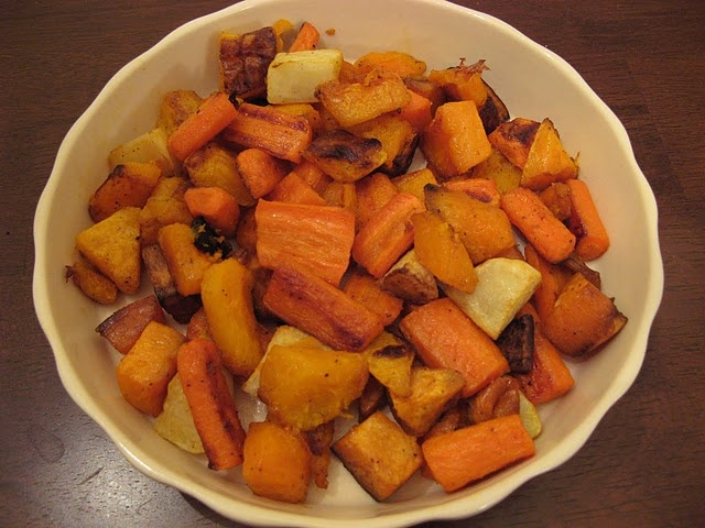 Roasted Root Vegetables and Winter Squash