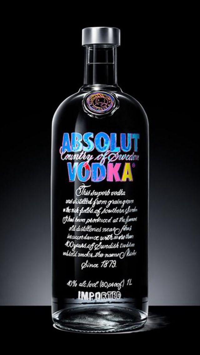 Design par andy Warhol, absolut votka, début septembre en vente (16,90€)
