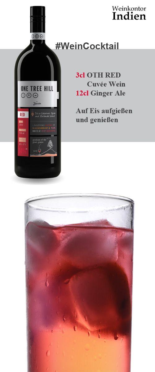 Ein Cocktail der besonderen Art - eben ein #WeinCocktail. Viel Spaß beim Genießen PS: für alle die jetzt den OTH nicht zur Hand haben - ein guter Rotwein passt immer.