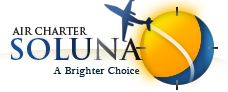 Soluna Air Charter - a personalized jet provider service of luxurious regional, continental, and international air travel.