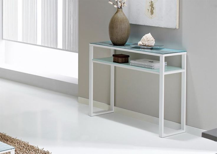 84 best glass console table images on pinterest console for Bedroom furniture 77584