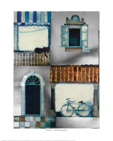 Ideal Casa Cantagalli Art Print by Rosina Wachtmeister at Art
