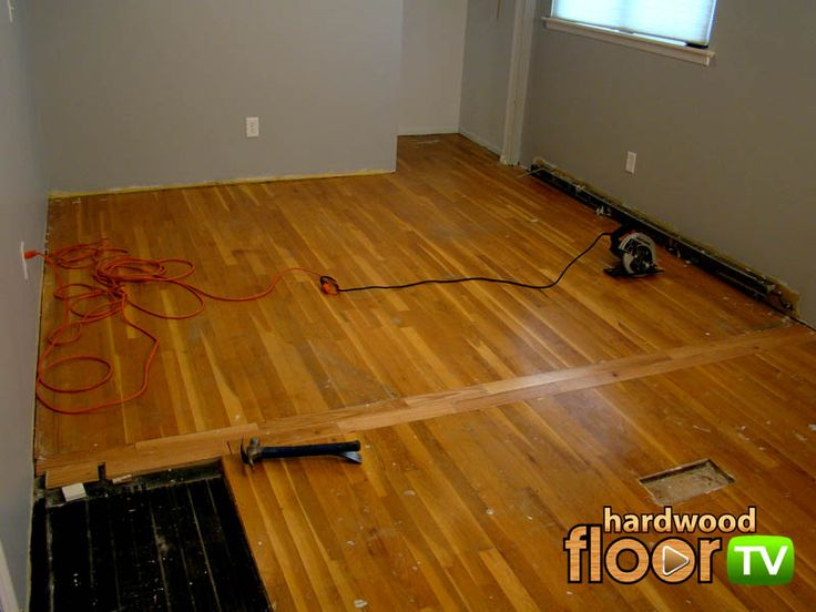 transition strip in wood floor - Google Search | Kitchen