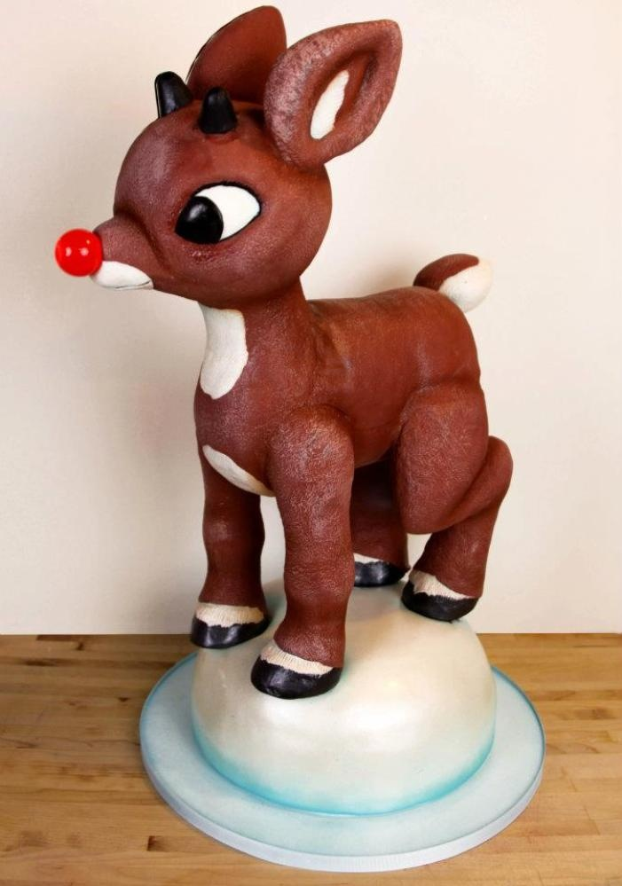 Charm City Cakes Creations - Rudolph