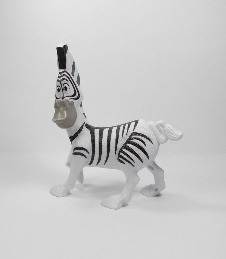 Madagascar - Marty - A - Toy Figure - Cake Topper (1)