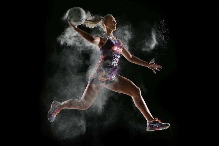 Queensland Firebirds player Chelsea Pitman.
