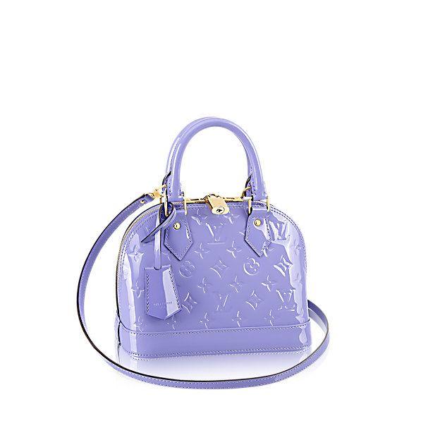Alma BB Monogram Vernis Lilac - Handbags - Shoulder Bags and Totes | LOUIS VUITTON