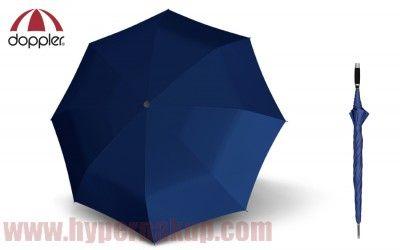 Dáždnik Doppler Golf Fieberglas Uni -unisex palicový mechanický modrý