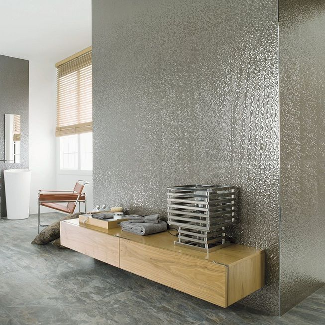 Wall Tiles Have Come A Long Way And No Longer Need To Be Traditional. If  Youu0027re Looking For Something Different In Your Bathroom Why Not Try A  Metallic ... Part 84