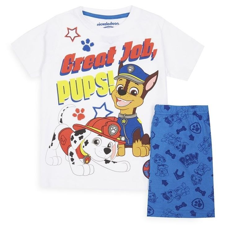 Pijama la Patrulla Canina niño pequeño  Categoría:#niño #niños #pijamas_niño en #PRIMARK #PRIMANIA  Más detalles en: http://ift.tt/2vIzAHT