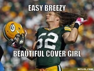 Oh boy. CLAY. MATTHEWS! Yeah, I can't even breathe. Haha!  |NFL Memes||Sports Memes||Funny Memes||Football Memes||NFL Humor|