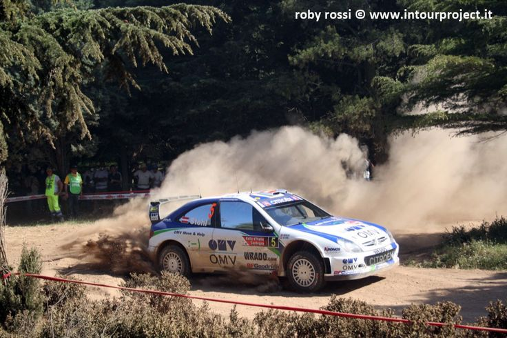 Stohl - WRC Rally Costa Smeralda 2007 - foto di Roby Rossi http://www.intourproject.it/it/in_photo/il_significato_delle_immmagini_nella_comunicazione_cat_11.htm
