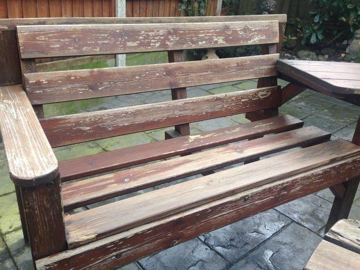 fine wooden garden furniture gumtree 8