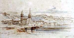 ZANTE. by Edward Lear, April 25, 1848