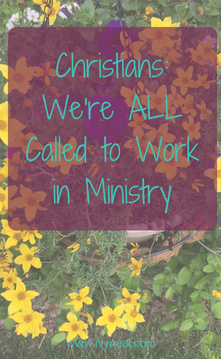Did you know that God placed you EXACTLY where you need to be, to pour His grace into the lives of those around you? That's how you work in ministry.