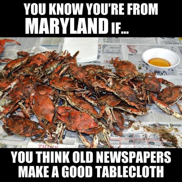 Except there should be Old Bay or J.O. Spice on the side, NOT BUTTER!!!