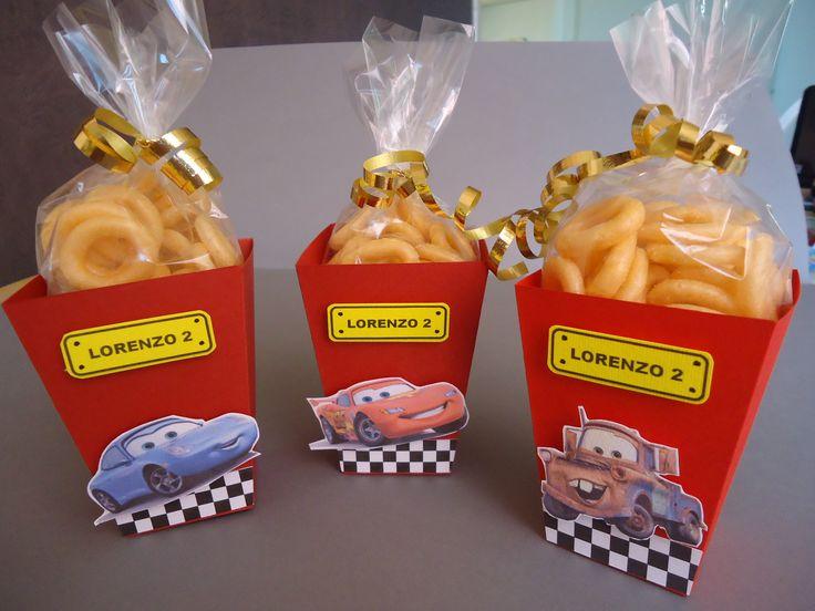 Cajitas de Cars